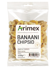 Arimex banaanichipsid 100 g