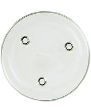 Küünlaalus taldrik HS16112108 läbipaistev