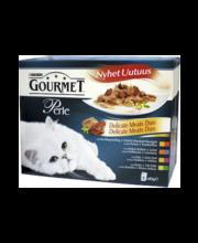 Täissööt kassidele, erinevad valikud 8 × 85 g
