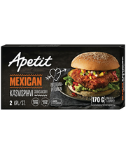 Mehhiko köögiviljapihvid, 170 g