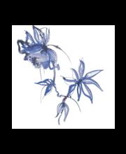 Salvrätik 40cm 12tk blue velvet