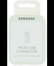 Samsungi USB-C – micro-USB-adapter, valge