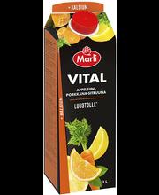 Marli Vital apelsini-porgandi-sidrunimahlajook kaltsiumiga 1l