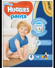 Huggies püksmähkmed Pants 4, poisile, 9-14 kg, 52 tk