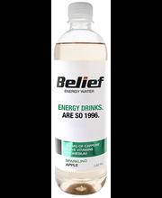 Belief gaseeritud energiavesi rohelise õuna maitsega, 530 ml