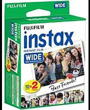 Kiirfilm FujiFilm Instax Wide, 2 × 10 tk