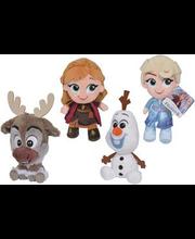 2 Chunky pehmet mänguasja, Frozen, 15 cm