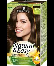 Juuksevärv Natural & Easy 580 Velvet Dark Brown