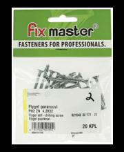 Fixmaster Flygel puurkruvi ZN PH2, 4,2 x 32, 20 tk