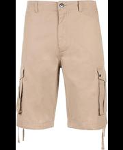 Meeste lühikesed cargo-püksid beež, 34