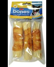 Närimisrullid kanafileega 10 cm, 3 tk, 80 g
