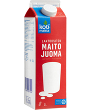 Laktoosivaba piimajook, 1 l