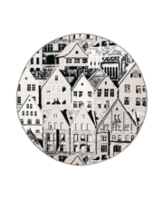 Vaip Bergen 133  cm, h.pruun