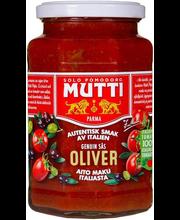 Mutti oliivi pastakaste, 400 g