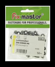 Fixmaster lukustusmutter, DIN 985, ZN, M6, 50 tk