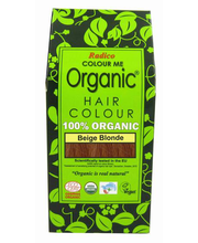 Juuksevärv Colour Me Organic Beige Blonde 100g