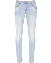 Meeste strech-teksad Slim, sinine W34L30