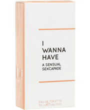 Tualettvesi I Wanna Have Sensual Sexcapade EDT 50 ml