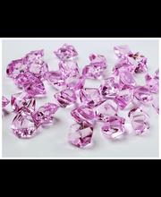 jääkristallid, roosa plast