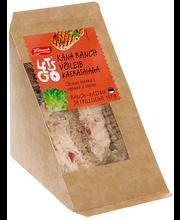 Kana ranch võileib kaerasaiaga 165 g