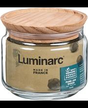Klaaspurk 0,5 l puitkaanega
