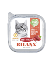Best Friend Bilanx veisepasteet kassidele 100g