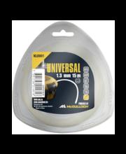 Ümar trimmitamiil Universal, 1,3 mm × 15 m