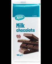 X-tra piimašokolaad 100 g