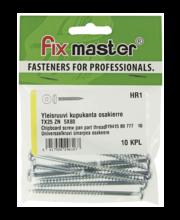 Fixmaster universaalkruvi, ümarpea, osakeere, TX25, 5,0 x 80 ...