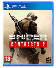 PS4 mäng Sniper Ghost Warrior Contracts 2