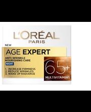 Öökreem age specialist 65+ 50ml