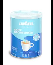 Jahvatatud kofeiinivaba kohv Caffe Decaffeinato 250g purgis