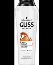 Shampoon Glis Total repair 250 ml