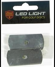 Discgolfi ketta LED-valgustus 2 tk