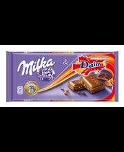 Milka daimi tükkidega piimašokolaad 100 g