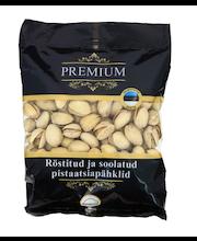 Germund Premium pistaatsiapähklid, röstitud, soolatud 250 g