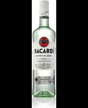 Bacardi Carta Blanca rumm 37,5% 700 ml