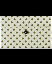 Karp 24x12x15 cm, valge/kuldne
