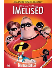 DVD Imelised / The Incredibles