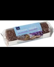 Rullbiskviit šokolaadiglasuuri ja kakaotäidisega 300 g