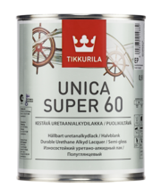 Puidulakk UNICA SUPER 60 0,9L poolläikiv