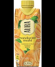 Aura mandariinimahl, 330 ml