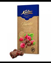 Kalev piimašokolaad vaarika ja kakaotuumatükiga 100g