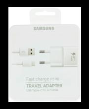Samsungi USB-C -kaabliga kiirlaadur
