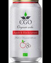 Ego Apple-Blackcurrant orgaaniline karastusjook, 330 ml