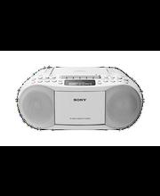 Magnetoola Sony CFD-S70 CD/kassett boombox, valge