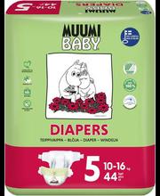 Muumi Baby teipmähkmed Diapers 5, 10-16 kg, 44 tk