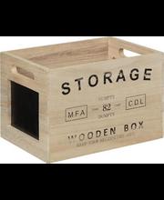 Sisustuskast Storage 27x18x17,5 cm, puit