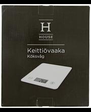 Digitaalne köögikaal 21,8x18,8x1,8 cm, valge