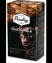 Filtri- ja presskannukohv Guatemala 500 g